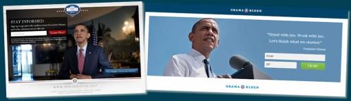 奥巴马的营销团队非常注重着陆页的设计