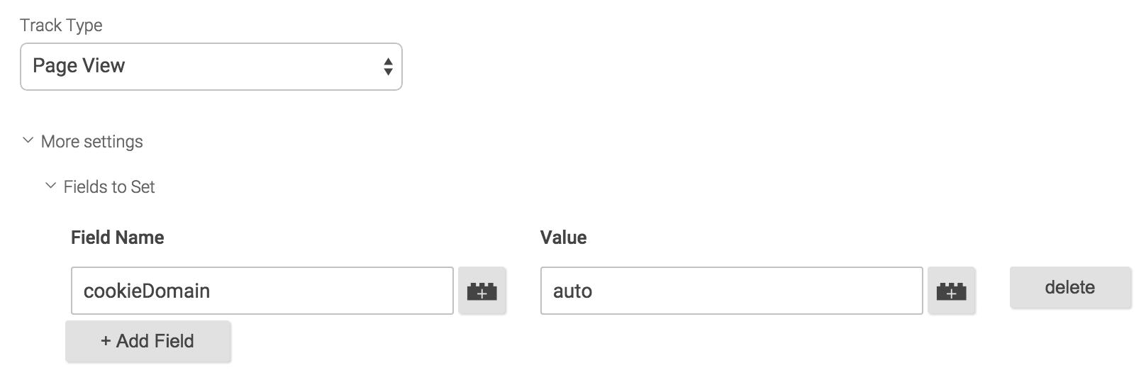 添加新字段cookieDomain为auto