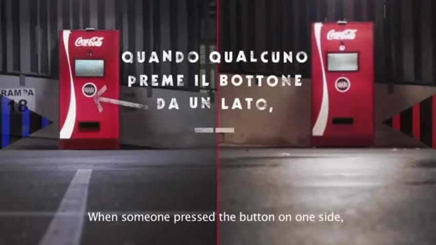 可口可乐米兰德比营销活动