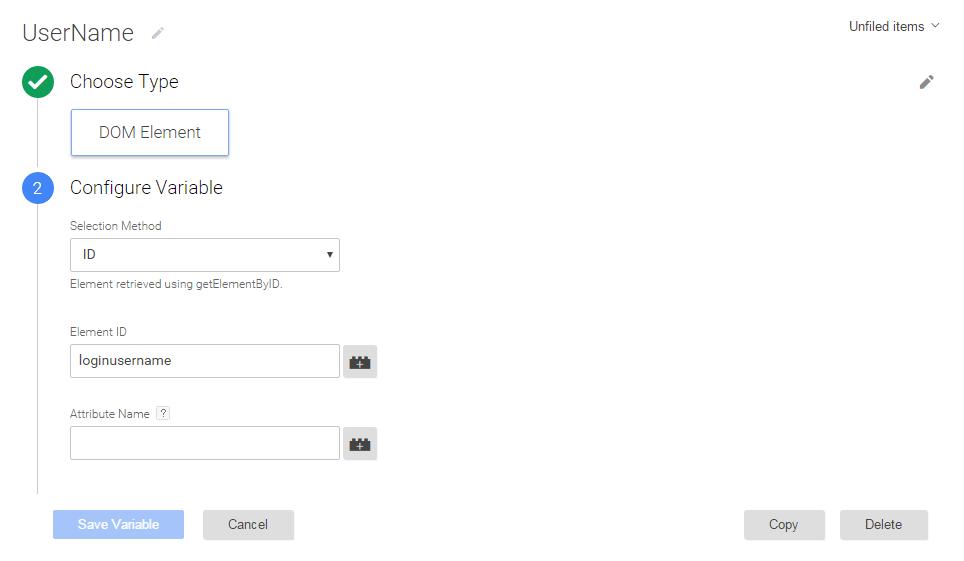 新建一个DOM Element变量自动抓取ID为特定值的元素的文本内容