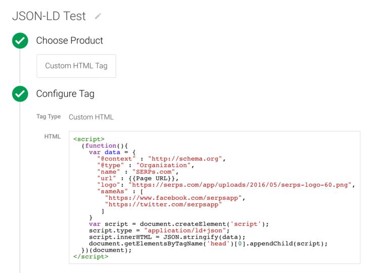 建立一个js对象,字符串化后插入到<head></head>中