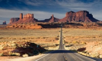 通向远方的道路