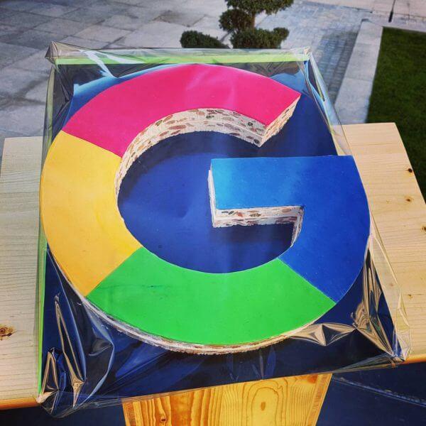 巨大的谷歌Logo牛轧糖