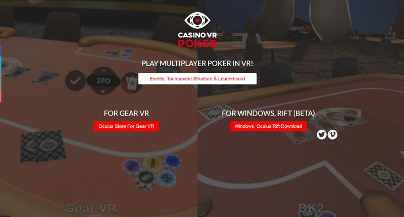 应用VR技术的线上赌场