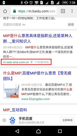 "MIP结果旁的""小闪电"""