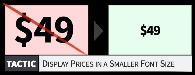 """字小一点就会给人错觉价格便宜的样子,所谓""""小钱"""""""