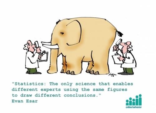 统计:能让不同专家从同一组数据中获得不同结论的唯一科学