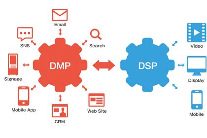 CDP可以作为DMP的输入数据源