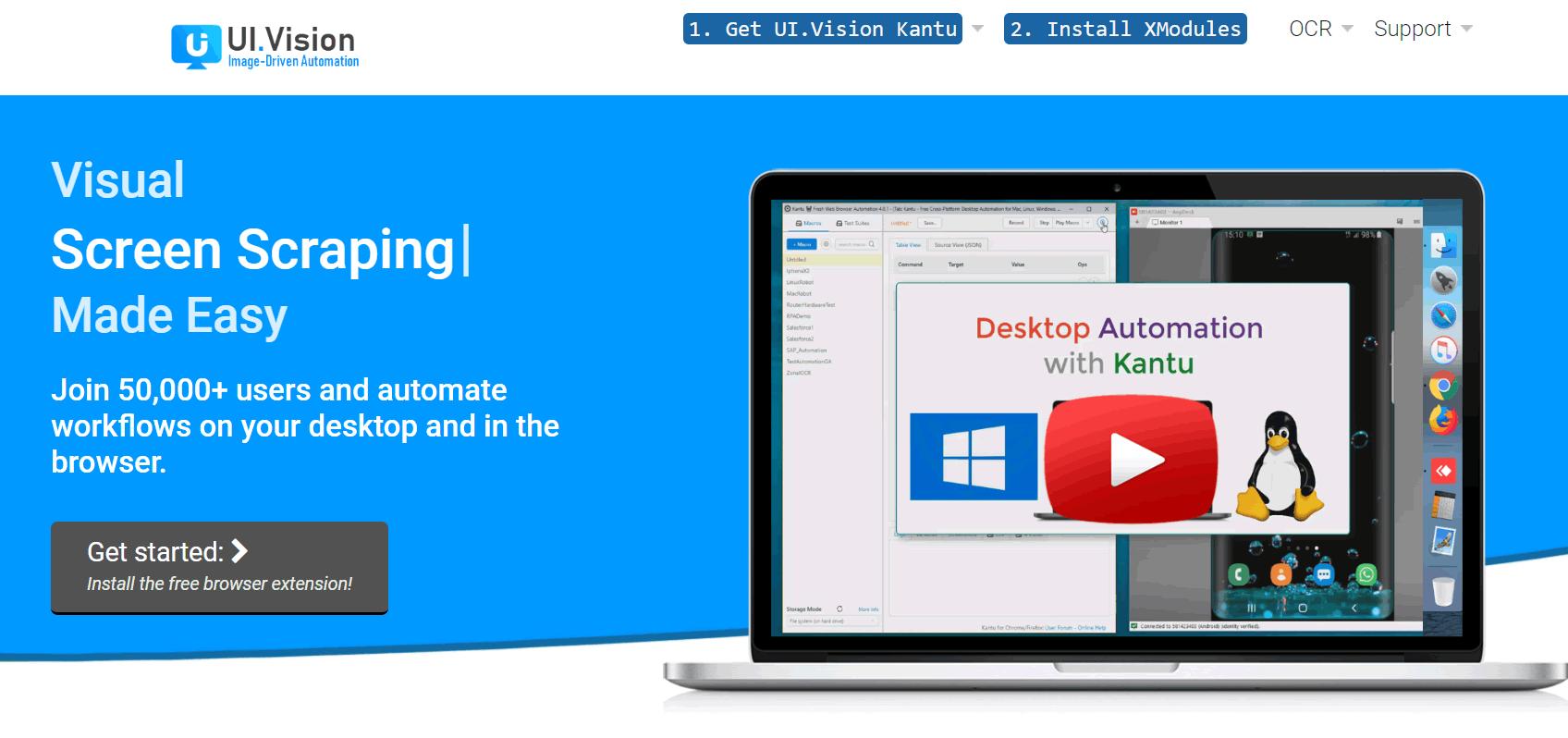 爬虫谁都能玩,再推荐一款超级浏览器插件- Kantu - 极诣数字营销